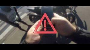 Liberty Rider Verkeers-App in actie